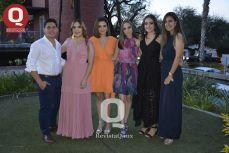 Jorge Cervantes, Isabella Sorrentino Vania Sauza, Victoria Loza, Lucía Pérez y Dariana Andrade