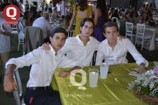 Juan Carlos González, Mauricio Villanueva y Emilio Arzac