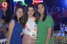 María Campos, Gladys Romero y Julia MIranda