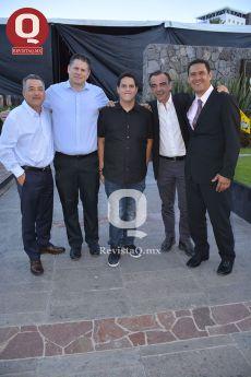Mariano Muñoz, Raúl Bracamontes, Mariano Muñoz Jr., Giuseppe Sorrentino y Guillermo Arrona