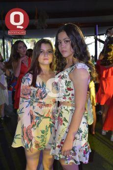 Pamela Moreno con Mirelle Romero