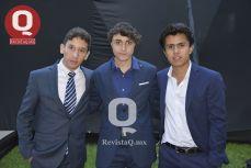 Ricardo Fonseca, Fernando Reyes y Fabio Corona