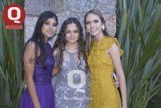 Valeria Murillo, Aranza Pérez y Camila Velázquez