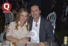 Verónica Malacara y Alejandro Jiménez