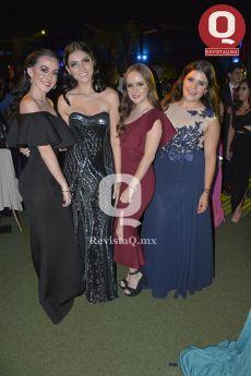 Andrea Méndez, Jessica Mejía, Daniela Tejeda y Mayté García