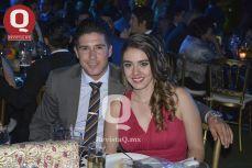 Julián Quiroz y Samantha Rábago