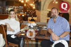 Janette Márquez y Francisco Villa