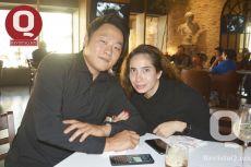 Jin Bae y Aurora Valdés