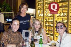 Maca Valenzuela, Maru Fernández, Cristy Monroy y María Galindo