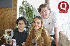 Mauricio Díaz, Alexa Díaz y Emilio Diaz