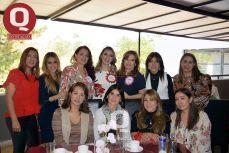 Edith Zúñiga, Mónica Hdz, Nayeli Santander, Soraya García, Valeria Torres y Eliza Zarco
