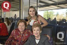 Coco Mancilla, Valeria Torres y Elivita Jáuregui