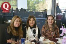Dolores Romo, Paty Lira y Erika Esquivel