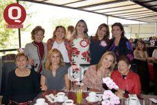 Julieta López, Anilú Torres, Valeria Torres, Karla Pérez, Paty Vega, Cristi Velázquez y Karla Aguirre