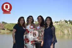 Karla Ivonne Aguirre, Valeria Torres, Eliza Zarco y Mariana Torres