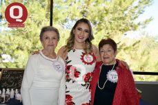 Lupita González, Valeria Torres y Tere Torres