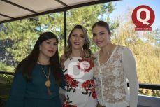 Rocío Cervantes, Valeria Torres y Bertha Guerrero