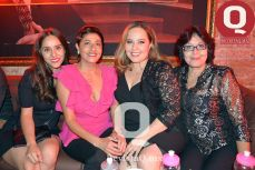 Daniela Torres, Angélica Carrillo, Laura Rivera y Griselda Carrillo