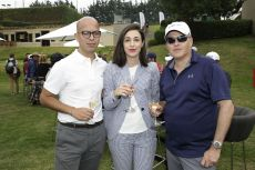 Julio César González, Cecilia Vilches y Beat Wille