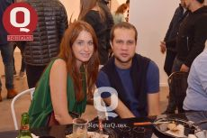 Zélika García y Johan Mergentalher  director creativo de Mercedes Benz Fashion Week México