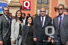 José Manuel Gutiérrez, Karina Gutiérrez, María de Jesús campos, José Gutiérrez y José Carlos Gutiérrez