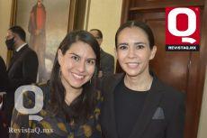 Luz Rivera y Cristina Rodríguez