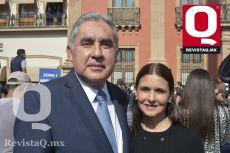 Manuel Ayala y Missy Obregón