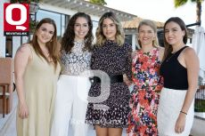 Anne Nova, Fernanda Dorantes, Alejandra Bonilla, Lara Pannenbacker y Mariana Michel.
