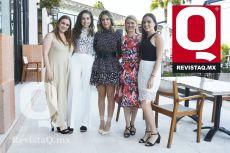 Anne Nova, Fernanda Dorantes, Alejandra Bonilla, Lara Pannenbacker y Mariana Michel