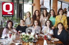 Lupita Aldana, Gemile Abugaber, Luz E. Piña, Blanca Labiaga, Ana G. Luna, Pili Muñoz, Lourdes Vieyra, Mónica Ruiz y Magaly Nava