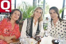 Malú Padilla, Martha Hernández y Lety Plasencia