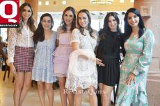 Marilú Fonseca, Daniela Mena, Fernanda Herrera, Maritza Tejada, Susana Reyes y Nuria de Alba