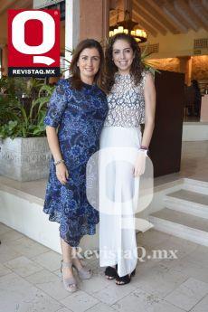 Martha Hernández y Fernanda Dorantes