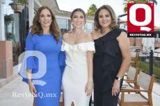 Patricia Villanueva, Fernanda Arreola y Anita Carranza.