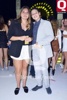 Karla Carbajal y Axel Casillas.