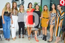 Abril Ortega, Fernanda Reyes, Karol Ortega, Karen Hernández, Karen Ortega, Itzá Morales, Yahayra Gutiérrez y Alejandra Turrubiates