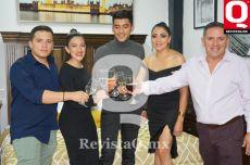 Brandon Ortega, Karen Ortega, Oswaldo Ortega, Claudia Ortega y Oswaldo Ortega,