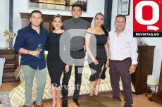 Brandon Ortega, Karen Ortega, Oswaldo Ortega, Claudia Ortega y Oswaldo Ortega