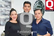 Karen Ortega, Oswaldo Ortega y Brandon Ortega