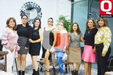 Mary Verdín, Erika Moreno, Liliana Landeros, Claudia Castañeda, Erika Castañeda, Ofelia Pacheco, Queta Bolívar y Verónica Ornelas
