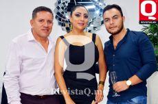 Oswaldo Ortega, Claudia Castañeda y Alexis Castañeda