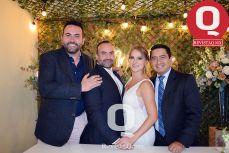 Jorge Cabrera, Aldo Márquez, Alexa Gilbert y  Juan Carlos Alcantara.