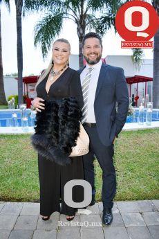 Brenda Márquez y José Luis Gómez..