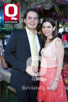Fabián González y María José Arena
