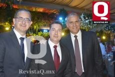 Fernando González, Octavio Villasana y Elíseo Martínez