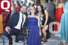 Octavio Ruiz, Mariana Ruiz y Lorenza Córdova