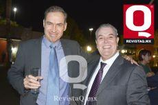Pablo Orozco y Raúl Farías