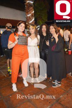 Alana Salmón, Valeria Hernández, Azul Navarro y Melissa Liceaga