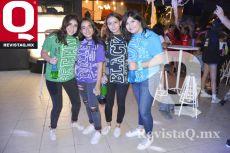 Carolina Reyes, Renata Camacho, Paola Rodríguez y Nuria Márquez