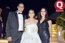 Mauricio Ruiz, María Regina García y Primavera de la Mora